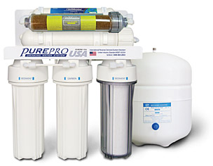 5 Stage Dental 50Gpd DI Reverse Osmosis water filter system (RO5DI50)