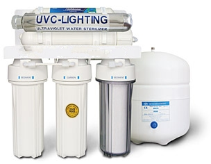 6 Stage Ultra Violet Dental Reverse Osmosis water filter system(WL)