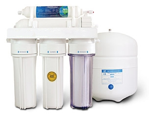 A 5 Stage Reverse Osmosis water filter system RO5PEW