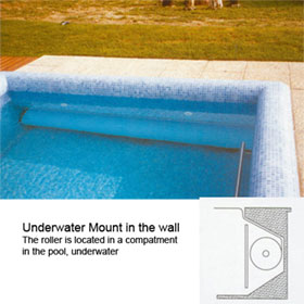 Automatic Swimming Pool Covers, In-The-Wall