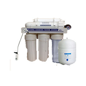 ro 5 stage reverse osmosis with pressure gauge ro5pg. Black Bedroom Furniture Sets. Home Design Ideas