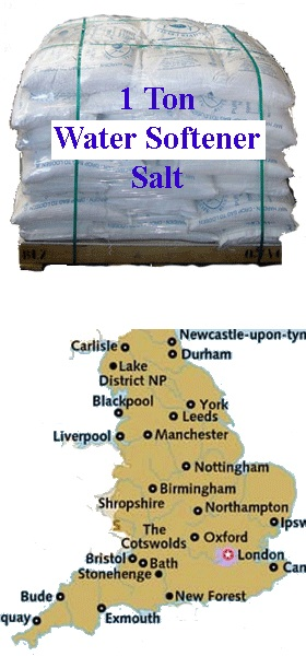 Pallet Of Softener Salt 1 Ton